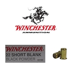 .22 SHORT BLACK POWDER BLANK