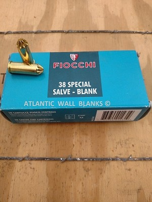 FIOCCHI 38 SPECIAL BLANK