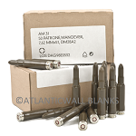 7.62x51 / 308 GERMAN MILITARY BLANK - 100 ROUNDS