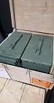 M1A1 U.S. MILITARY .50 BMG BLANK - M9 LINKED -  FULL  CASE